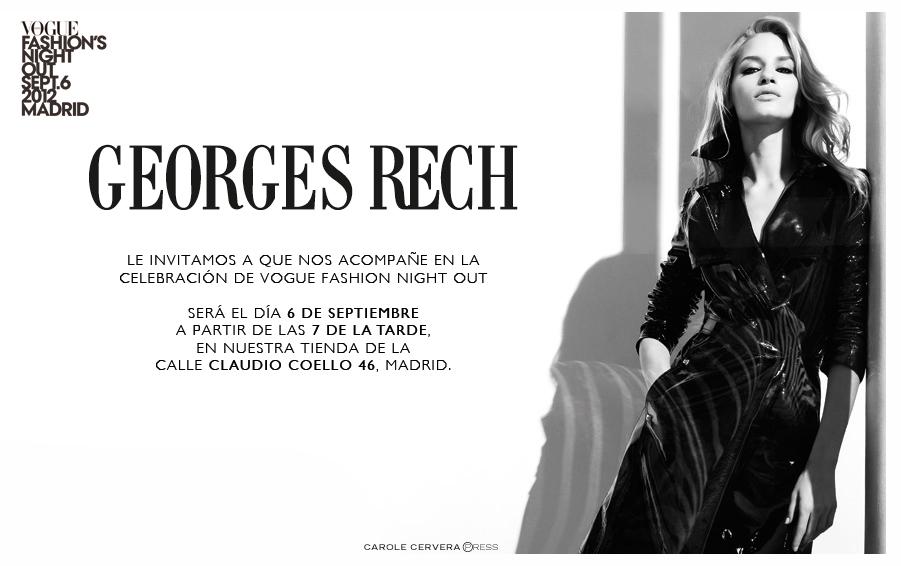 58d28d51e3 Carole Cervera Press » GEORGES RECH EN VOGUE FASHION NIGHT OUT MADRID