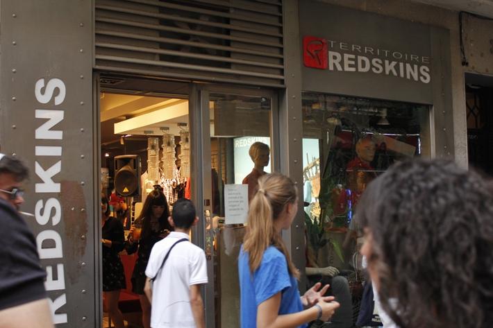 Exterior de la tienda Redskins en Fuencarral 32