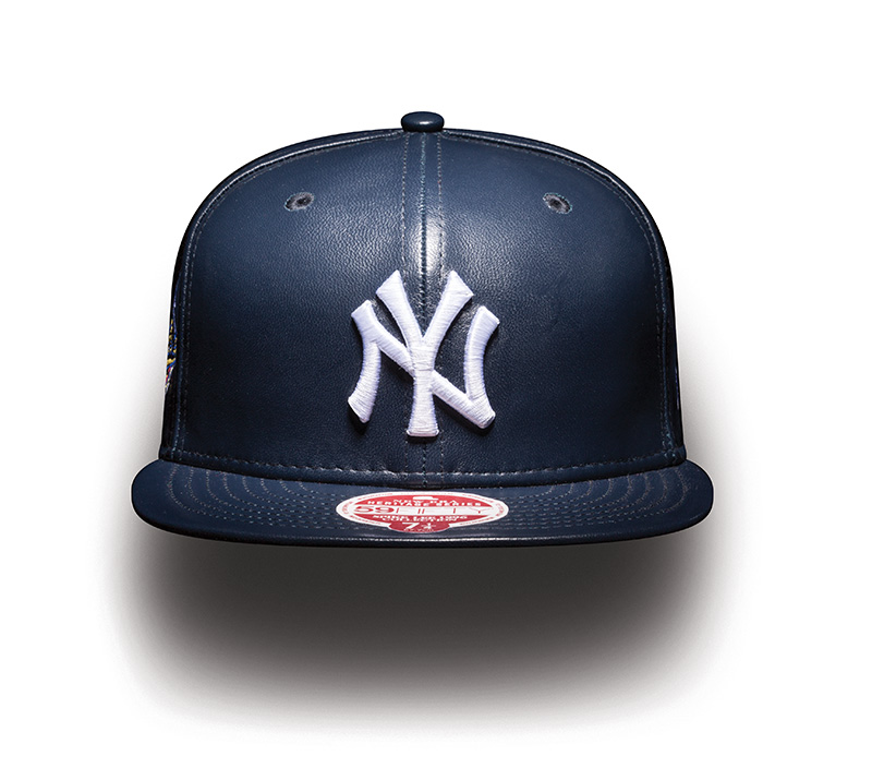 MLB 59FIFTY SPIKELEE96WS NEYYAN NAVYLEATHER F WALL 3233664e213