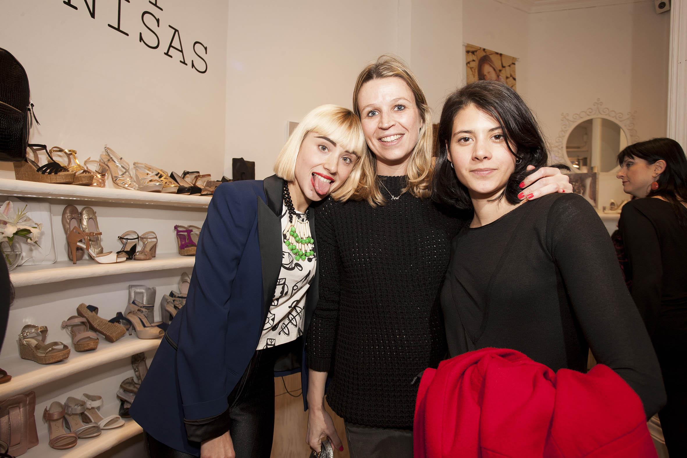 Miranda, Ana Rome e Irene Alcon